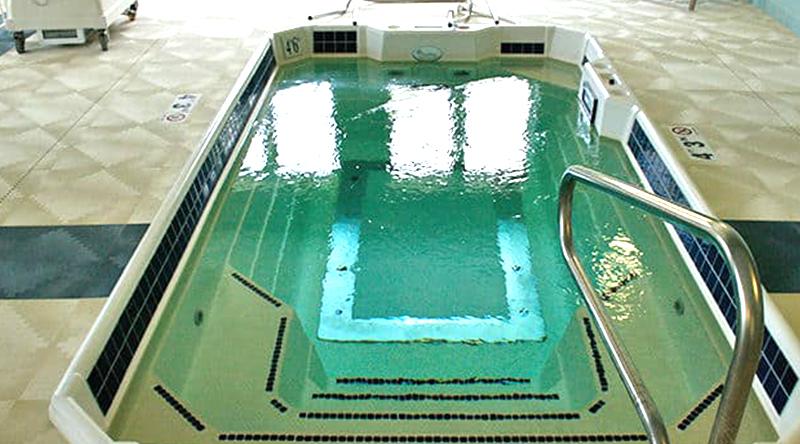 Our short term rehabilitation pool