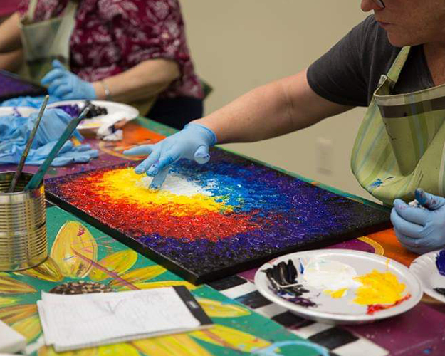 Tap your innermost social, intellectual, and vocational desires by attending or teaching a class in our Studio of Art.