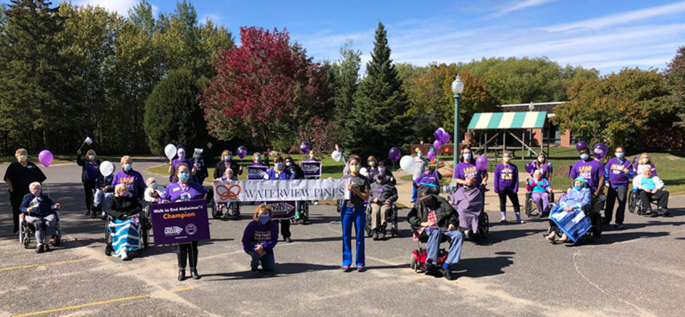 Cancelled Alzheimer's Walk Didn't Stop Fundraising at Waterview Pines