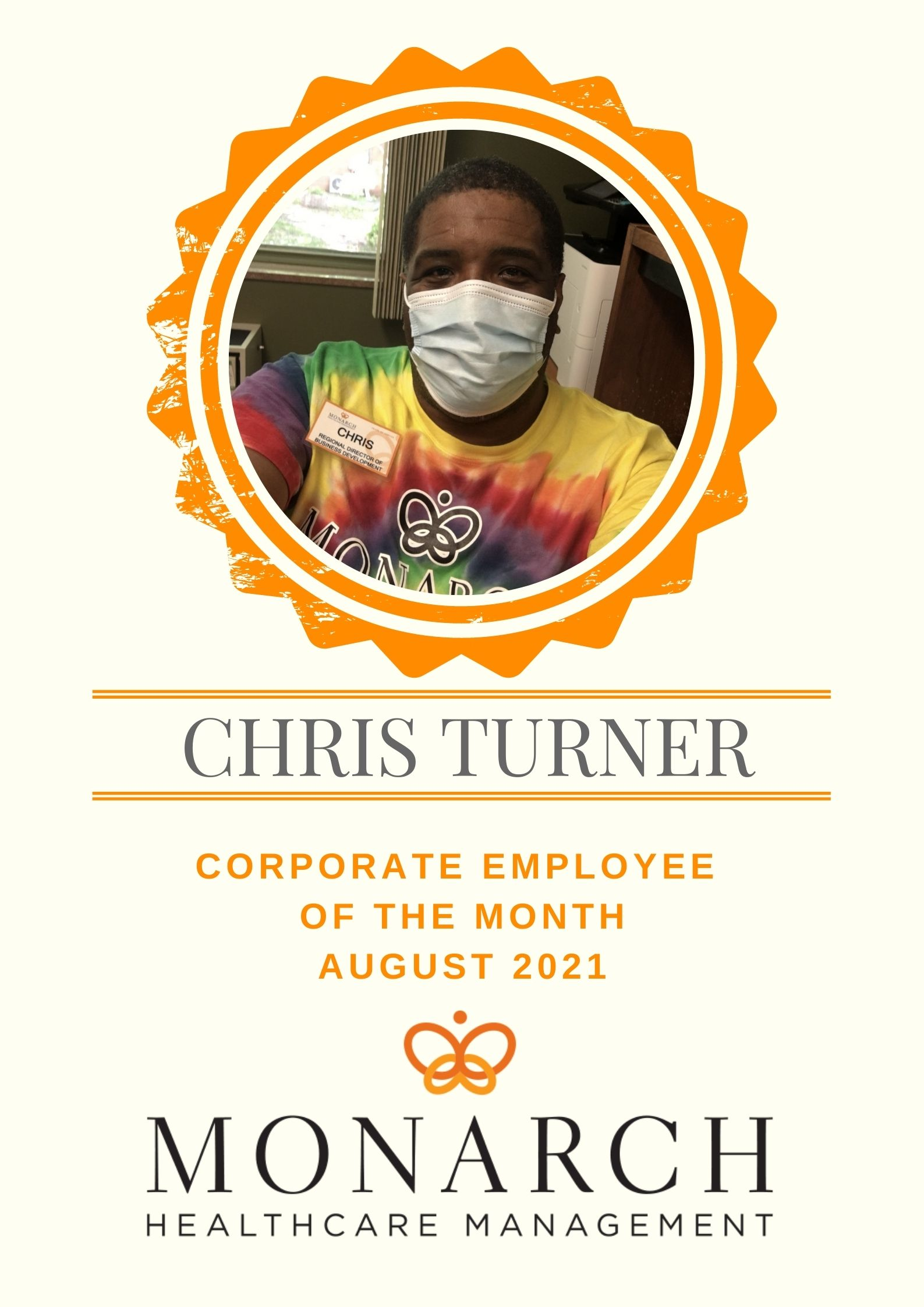 August Corporate Employee of the Month