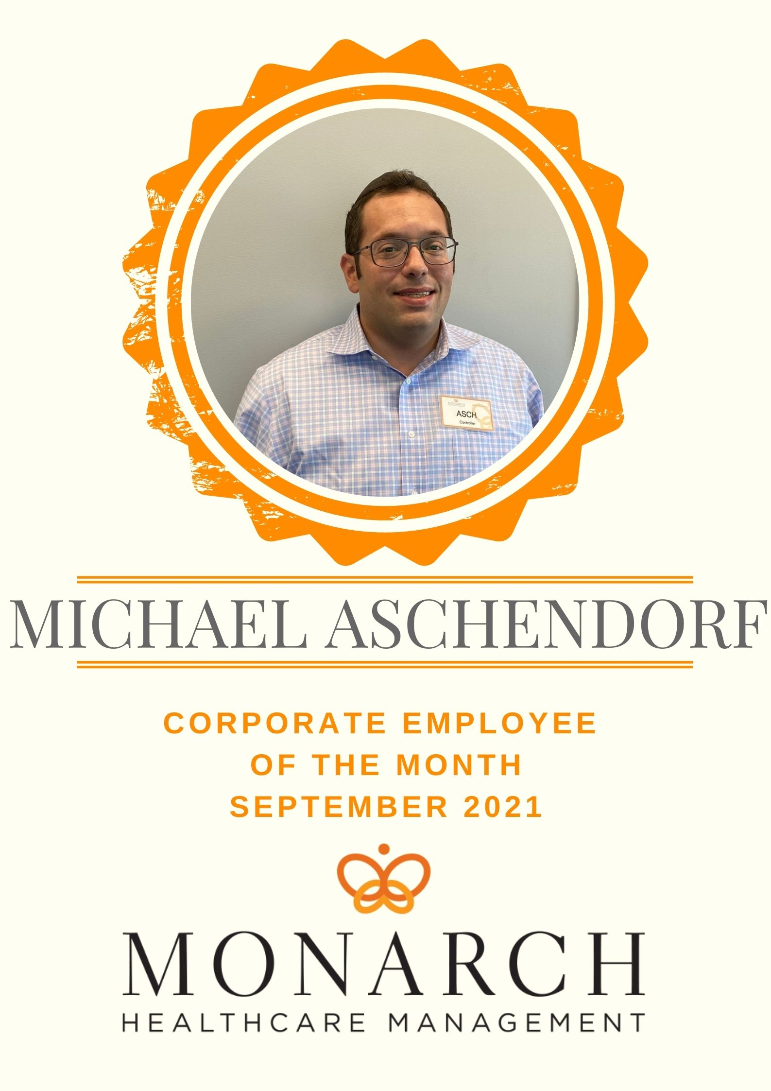 September Corporate Employee of the Month